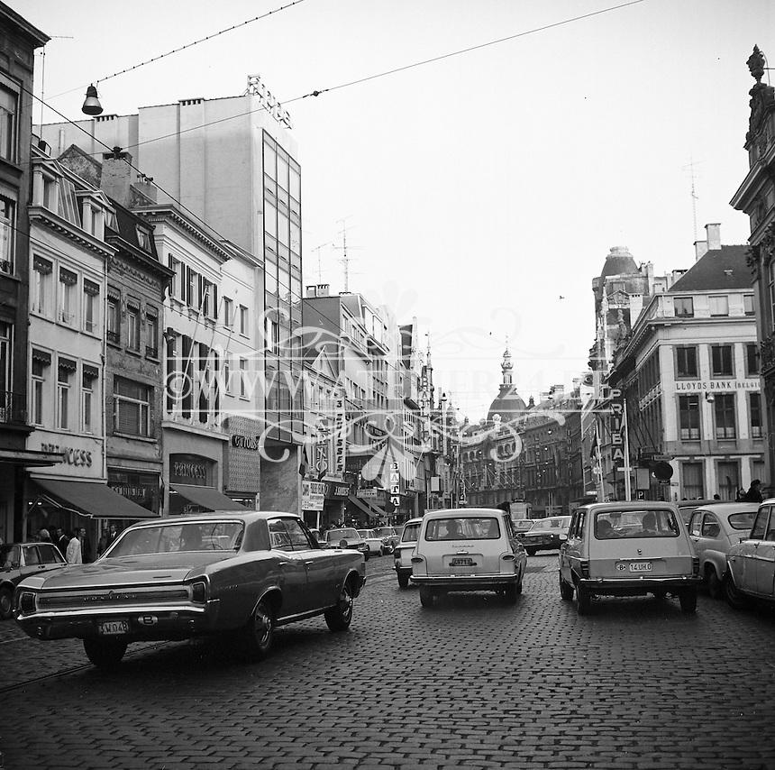 December 1970. Meir in Antwerpen.