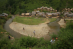 village de Ban houayka (ethnie kamu) a 3h de marche de Pakbeng . Laos .