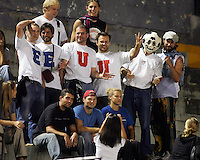 USA fans. The US Men's National Team tied Guatemala, 0-0, in World Cup Qualifying at Estadio Mateo Flores in Guatemala City, Guatemala on September 7, 2005.