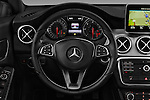 Car pictures of steering wheel view of a 2016 Mercedes Benz CLA - 4 Door Sedan Steering Wheel