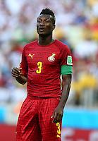 Asamoah Gyan of Ghana