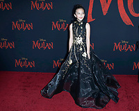 "LOS ANGELES - MAR 9:  Delphine Huang at the ""Mulan"" Premiere at the Dolby Theater on March 9, 2020 in Los Angeles, CA"