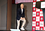 May 24, 2018, Tokyo, Japan - Spanish midfielder Andres Iniesta of former FC Barcelona arrives at a press conference as he joins Vissel Kobe of Japan's professional football league J-League in Tokyo on Thursday, May 24, 2018. Vissel Kobe is owned by Japanese online commerce giant Rakuten and Rakuten is now uniform sponsor of FC Barcelona.   (Photo by Yoshio Tsunoda/AFLO) LWX -ytd-