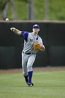 Sean White of the Washington Huskies throws before during a game against the Pepperdine Waves at Eddy D. Field Stadium on February 7, 2003 in Malibu, California. (Larry Goren/Four Seam Images)
