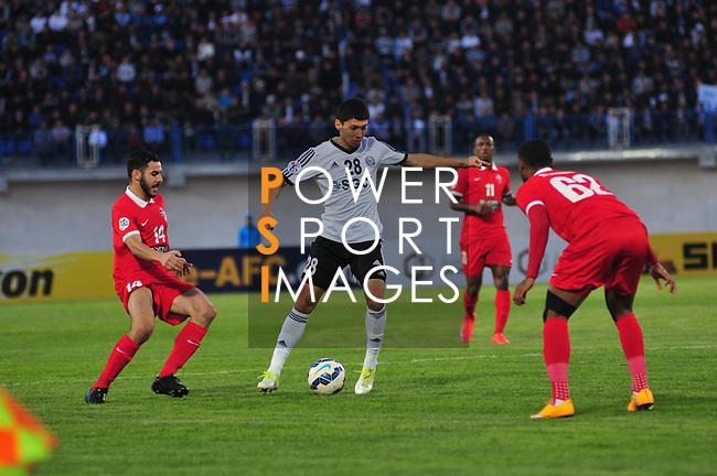 Nasaf vs Al Ahli during the 2015 AFC Champions League Group D match on April 07, 2015 at the Karshi Central Stadium in Karshi, Uzbekistan. Photo by Anvar Ilyasov / World Sport Group