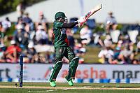 23rd March 2021; Christchurch, New Zealand;  Mushfiqur Rahim of Bangladesh during the 2nd ODI cricket match, Black Caps versus Bangladesh, Hagley Oval, Christchurch, New Zealand.