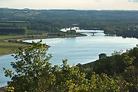 Europe/France/Midi-Pyrénées/82/Tarn-et-Garonne/Boudou: Le point de vue sur le confluent du Tarn et de la Garonne