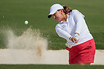 Players in action during the Day 1 of the Fubon LPGA Taiwan Championship on 30th October 2014 at the Miramar Golf Country Club outskirts of Taipei, Taiwan. Photo by Victor Fraile / Power Sport Images