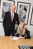 Senior Partner Andy Mattews (left) with Charlotte Chapman from Gateley plc Nottingham Senior Partner Andy Matthews (left) with Charlotte Chapman from Gateley plc Nottingham