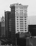 Pittsburgh PA:  View of the Arrott Building from the Empire Building.  Arrott Building was built in 1902 and is located at Wood Street and Fourth Avenue and still in operation today.  Keystone Bank Building in background