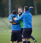 Andy Halliday celebrates