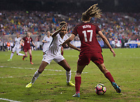 Washington, DC - March 7, 2017: France defeated the USWNT 3-0 during the SheBelieves Cup.