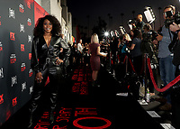 "LOS ANGELES - OCTOBER 26: Angela Bassett attends the red carpet event to celebrate 100 episodes of FX's ""American Horror Story"" at Hollywood Forever Cemetery on October 26, 2019 in Los Angeles, California. (Photo by John Salangsang/FX/PictureGroup)"