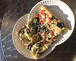 Slice, Pizza Rustica Restaurant, Miami, Florida