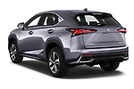 Car pictures of rear three quarter view of a 2018 Lexus NX Executive Line 5 Door SUV angular rear
