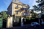 Somalian Embassy in Rome. Somalian refugees live in the former embassy of their country in Rome
