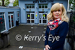 Tralee KDYS manager Gemma O'Brien standing outside the KDYS on Tuesday who received €5,000 from the Community Enhancement Programme.