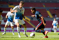 GUADALAJARA, MEXICO - MARCH 18: Jonathan Lewis #7 of the United States moves with the ball before a game between Costa Rica and USMNT U-23 at Estadio Jalisco on March 18, 2021 in Guadalajara, Mexico.