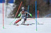 20th February 2021; Cortina d'Ampezzo, Italy; FIS Alpine World Ski Championships, Women's Slalom   Kristin Lysdahl (NOR)
