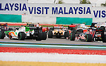 05 Apr 2009, Kuala Lumpur, Malaysia --- Pack of cars during the 2009 Fia Formula One Malasyan Grand Prix at the Sepang circuit near Kuala Lumpur. Photo by Victor Fraile --- Image by © Victor Fraile / The Power of Sport Images