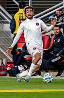 WASHINGTON, DC - MARCH 07: Rodolfo Pizzarro #10 of Inter Miami on the attack during a game between Inter Miami CF and D.C. United at Audi Field on March 07, 2020 in Washington, DC.