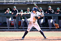 CARY, NC - FEBRUARY 23: Matt Wood #7 of Penn State University waits for a pitch during a game between Wagner and Penn State at Coleman Field at USA Baseball National Training Complex on February 23, 2020 in Cary, North Carolina.