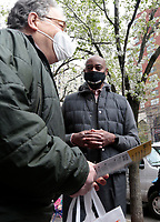 New York City Mayoral Candidate Ray McGuire Campaigns In NYC