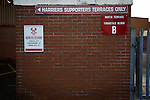 Kidderminster Harriers 3 Gainsborough Trinity 0, 19/11/2016. Aggborough, National League North. An exterior view of Aggborough, home of Kidderminster Harriers pictured before they played visitors Gainsborough Trinity in a National League North fixture. Harriers were formed in 1886 and have played at their current home since 1890. They won this match  by 3-0 watched by a crowd of 1465. Photo by Colin McPherson.