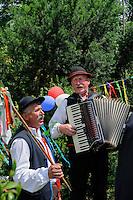 Volksmusik in den Beskiden, Woiwodschaft Kleinpolen (Województwo małopolskie), Polen, Europa<br /> Folkmusic in the Bescides, Poland, Europe