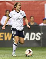 SAN ANTONIO, TX- OCTOBER 20, 2013: The U.S. Women's National Team defeated the Australia Women's National Team 4 - 0 in an International Friendly at Alamodome.