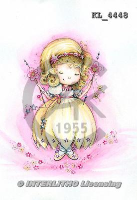 Interlitho, CHILDREN, KINDER, NIÑOS, paintings+++++,princess,KL4448,#k# ,everyday