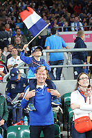 Starting young - a young fan travels across the Channel to support his team during Match 5 of the Rugby World Cup 2015 between France and Italy - 19/09/2015 - Twickenham Stadium, London <br /> Mandatory Credit: Rob Munro/Stewart Communications
