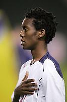 Will John, USA over Trinidad, 6-1, Wednesday, Jan. 12, 2005, in Carson, California.