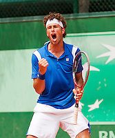 31-05-12, France, Paris, Tennis, Roland Garros, Robin Haase