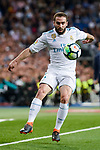 Real Madrid Daniel Carvajal during La Liga match between Real Madrid and Athletic Club at Santiago Bernabeu Stadium in Madrid. April 19, 2017. (ALTERPHOTOS/Borja B.Hojas)