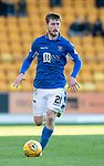 St Johnstone v Hamilton Accies…26.10.19   McDiarmid Park   SPFL<br />Anthony Ralston<br />Picture by Graeme Hart.<br />Copyright Perthshire Picture Agency<br />Tel: 01738 623350  Mobile: 07990 594431