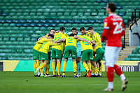 2nd January 2021; Carrow Road, Norwich, Norfolk, England, English Football League Championship Football, Norwich versus Barnsley; Tim Krul of Norwich City looks up from the team huddle