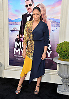 """LOS ANGELES, USA. June 11, 2019: Tia Mowry-Hardrict at the premiere of """"Murder Mystery"""" at Regency Village Theatre, Westwood.<br /> Picture: Paul Smith/Featureflash"""
