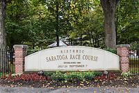 Historic Saratogsa Race Course, Saratoga Springs, New York, USA