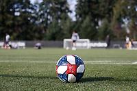 TUKWILA, WA - NOVEMBER 08: MLS ball at Starfire Sports Complex on November 08, 2019 in Tukwila, Washington.