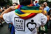 SÃO PAULO, SP, 22.06.2019: PROTESTO-SP - A XVII Caminhada de mulheres lésbicas e bissexuais ocorreu na tarde deste sábado, da avenida paulista até a praça da república, no centro de São Paulo. (Foto: Carla Carniel/Código19)