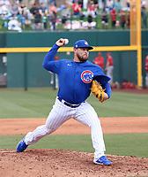 Juan Gamez - Chicago Cubs 2020 spring training (Bill Mitchell)
