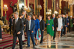 Miguel Angel Revilla attends to Sapnish National Day palace reception at the Royal Palace in Madrid, Spain. October 12, 2018. (ALTERPHOTOS/A. Perez Meca)