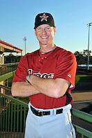 Feb 25, 2010; Kissimmee, FL, USA; The Houston Astros coach Brad Arnsberg (31) during photoday at Osceola County Stadium. Mandatory Credit: Tomasso De Rosa/ Four Seam Images