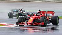 15th November 2020; Istanbul Park, Istanbul, Turkey; FIA Formula One World Championship 2020, Grand Prix of Turkey, Race Day;  5 Sebastian Vettel GER, Scuderia Ferrari Mission Winnow on his way to 3rd place in the race