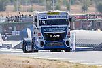 German driver Jochen  Hahn belonging German team Jochen Hahn during the super pole SP1 of the XXX Spain GP Camion of the FIA European Truck Racing Championship 2016 in Madrid. October 01, 2016. (ALTERPHOTOS/Rodrigo Jimenez)