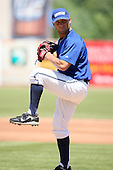 June 14th 2008:  Rudy Darrow of the West Michigan Whitecaps, Class-A affiliate of the Detroit Tigers, during a game at Fifth Third Ballpark in Comstock Park, MI.  Photo by:  Mike Janes/Four Seam Images