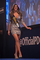 01.01.2014.  London, England.  William Hill World Darts Championship.  Quarter Final Round.  Walk on Girl Daniella Allfree.