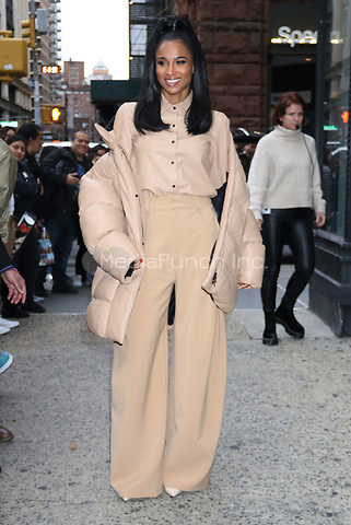 NEW YORK, NY- October 30: Ciara at Build Series  promoting the Nickelodeon game show, 'America's Most Musical Family' in New York City on October 30, 2019. Credit: RW/MediaPunch