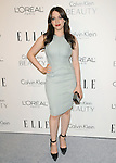 Kat Dennings  walks the carpet as Elle Honors Hollywood's Most Esteemed Women in the 17th Annual Women in Hollywood Tribute held at The Four Seasons Beverly Hills in Beverly Hills, California on October 18,2010                                                                               © 2010 VanStory/Hollywood Press Agency